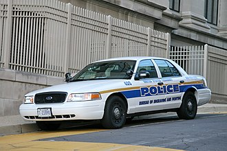 Federal law enforcement in the United States - A Bureau of Engraving and Printing Police (BEP) patrol car.