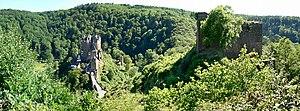 Counter-castle - Eltz and Trutzeltz castles