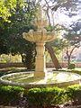 Burgos - Parque de la Isla, fuente del Monasterio de San Pedro de Arlanza 1.jpg
