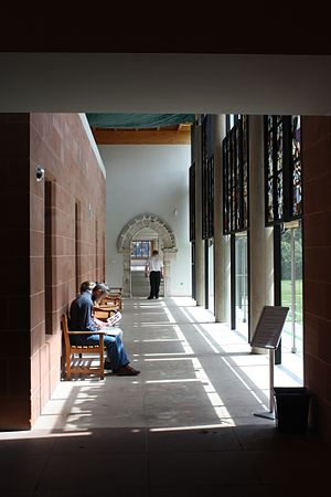 1983 in architecture - Burrell Collection interior