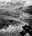 Burroughs Glacier, Wachusett Bay, and main inlet, terminus of glacier and glacial remnants, August 29, 1964 (GLACIERS 5978).jpg