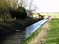 Burstwick Drain looking westwards - geograph.org.uk - 721984.jpg