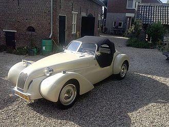Burton (car) - Burton with softtop