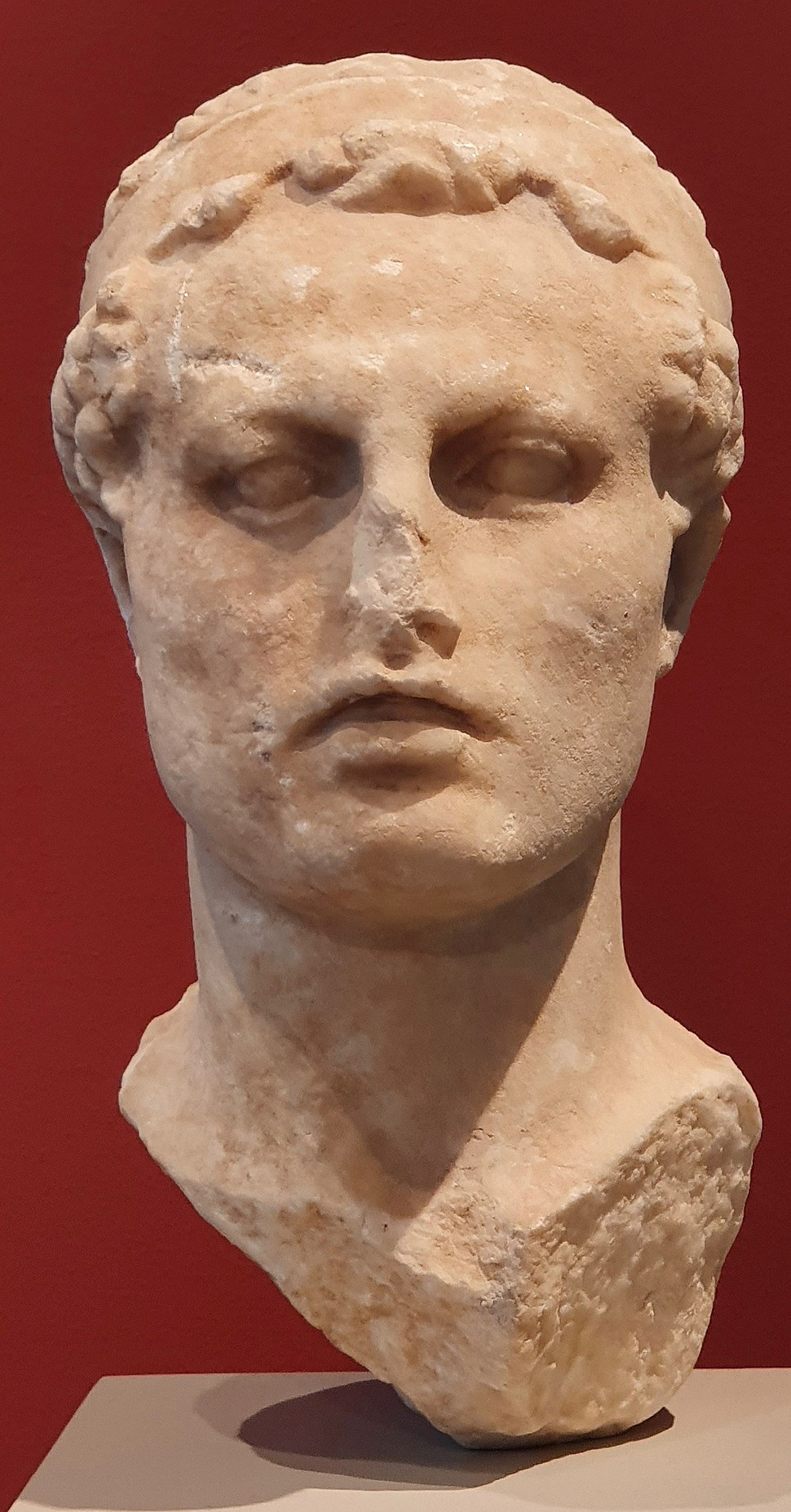 Bust of Antiochus IV-Altes Museum (Berlin)