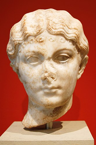 Julia Livilla - Julia Livilla, daughter of Germanicus