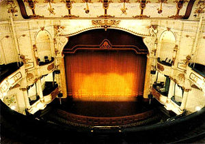 Buxton Opera House - Stage, boxes and orchestra pit