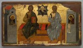 Byzantium, Constantinople - Icon of the New Testament Trinity - 2016.32 - Cleveland Museum of Art.tif