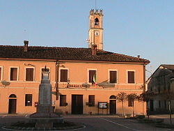 Town hall.