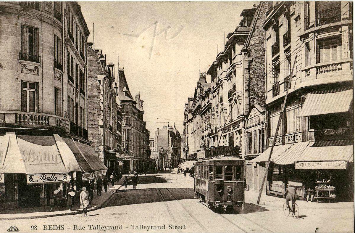 Rue de talleyrand reims wikip dia - Piscine reims ...