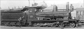 CGR 4th Class 4-6-0TT 1882 Joy - Image: CGR 4th Class 4 6 0 1882 no. W73 Joy Converted