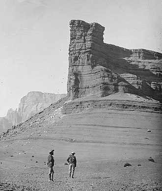 William Bell (photographer) - Image: CHOCOLATE BUTTE NEAR MOUTH OF THE PARIA, ARIZONA NARA 524346 (cropped)