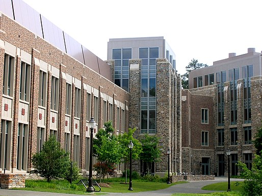 The Fitzpatrick Center is home to many of Duke's engineering programs CIEMAS2.jpg