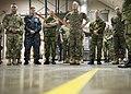 CJCS and Admiral Haakon Bruun-Hanssen, Norwegian Chief of Defence visit MCCP-N (37163228106).jpg