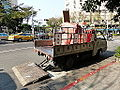 CMC Delica Recycling Truck of DEP, Taipei City Government 20140130.JPG