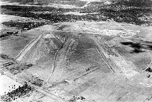 Kemayoran - The construction of Kemayoran Airport in Kemayoran.