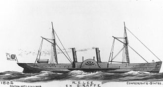 John Brown & Company - CSS ''Robert E. Lee'', launched in 1860