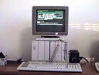 Convergent Technologies Operating System - A Burroughs B25 computer running CTOS