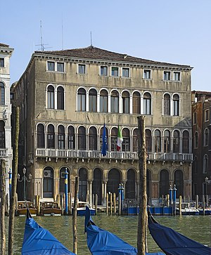 Ca' Farsetti - View of Ca' Farsetti from the Grand Canal in Venice.