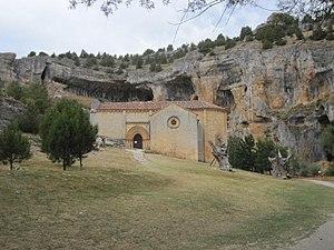 Cañón de Río Lobos - Ermita de San Bartolomé de Ucero (Templaria).JPG