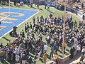 Cal Band performing pregame at 2008 Big Game 01.JPG