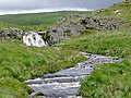 Camddwr waterfall, Ceredigion - geograph.org.uk - 1416060.jpg