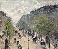 Camille Pissarro - Boulevard Montmartre, printemps - Museum Langmatt.jpg