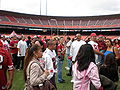 Candlestick Park during 49ers Family Day 2009 2.JPG