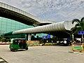 Cantilever projection of Birsa Munda airport.jpg
