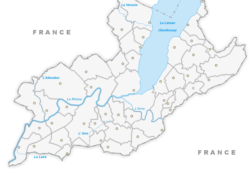 canton of geneva empty map fr. Black Bedroom Furniture Sets. Home Design Ideas