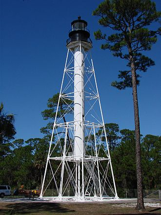 National Register of Historic Places listings in Gulf County, Florida - Image: Cape San Blas Light