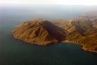 City of Dunedin (ship) - Cape Terawhiti