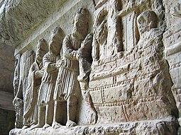Arca, Noé, su hijo y su mujer