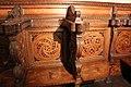 Cappella dei magi, stalli su disegno di Giuliano da Sangallo, 03.JPG