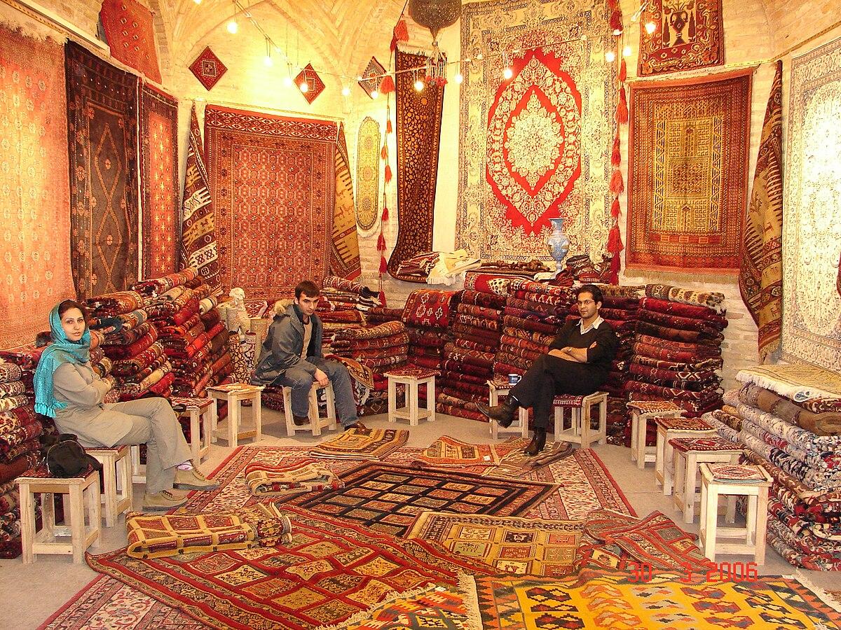 Grand Bazaar, Isfahan ...