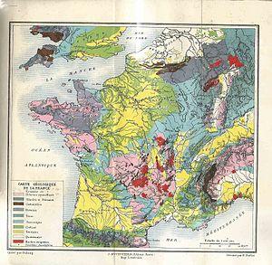 Carte Geologique Vikidia L Encyclopedie Des 8 13 Ans