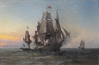 Triton (1787 EIC ship) - Image: Carter Triton m 021400 009599 p