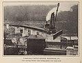 Casselman River Bridge Construction Rockwood Pennsylvania from Baltimore & Ohio Employes Magazine June 1914 Vol 2 No 09 Page 06.jpg