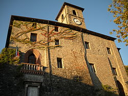 Castle of Corniglio.