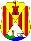 Coat of arms of Castell-Platja d'Aro
