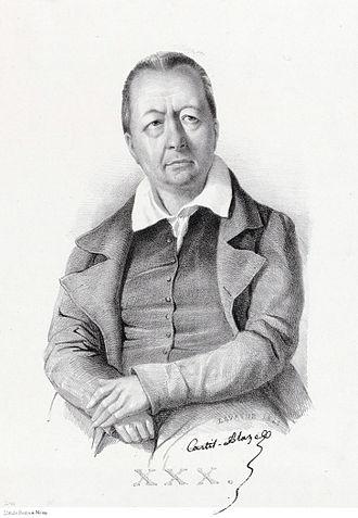 Castil-Blaze - Castil-Blaze by Laurens, 1841