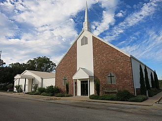 Cat Spring, Texas - Image: Cat Spring TX Lutheran Church