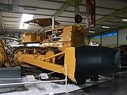 Caterpillar D9 Bulldozer older version in the museum Sinsheim, Germany