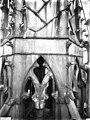 Cathédrale Notre-Dame - Clocher à l'Ange, détail de la plomberie à la base du clocher - Reims - Médiathèque de l'architecture et du patrimoine - APMH00030527.jpg