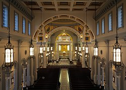 Cathedral of the most sacred heart of jesus knoxville tennessee wikipedia for Interior design schools in knoxville tn
