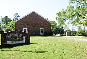 National Register of Historic Places listings in Chester County, South Carolina - Image: Catholic Presbyterian Church