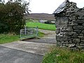 Cattle grid at the entrance to Ty Draw - geograph.org.uk - 572399.jpg
