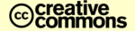 Creative Commons logo.