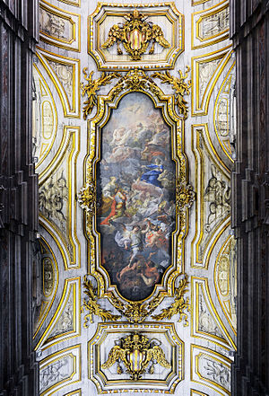 Ceiling of Santa Croce in Gerusalemme (Rome)