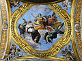 Ceiling on left in San Carlo al Corso (Rome).jpg
