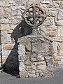 Celtic cross at Chestnut House residential care home, Hope, Flintshire.JPG